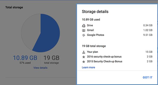 Cách dọn dẹp để tăng bộ nhớ lưu trữ cho Google Drive - ảnh 1