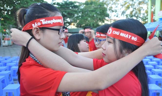 Hoa hậu Đại Dương, Top 10 HHVN hiến máu ở Cần Thơ - ảnh 4