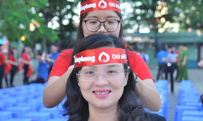 Hoa hậu Đại Dương, Top 10 HHVN hiến máu ở Cần Thơ - ảnh 3
