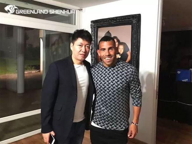 Tevez đi nghỉ trăng mật trước khi sang Trung Quốc thi đấu - ảnh 4