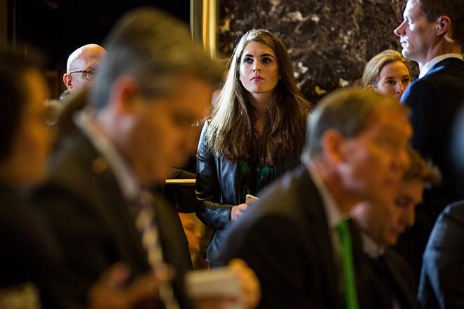 Nữ giám đốc truyền thông bí ẩn của Trump ở Nhà Trắng - ảnh 3