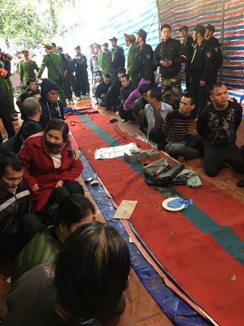 Triệt phá ổ đánh bạc quy mô lớn tại Hà Nội - ảnh 2