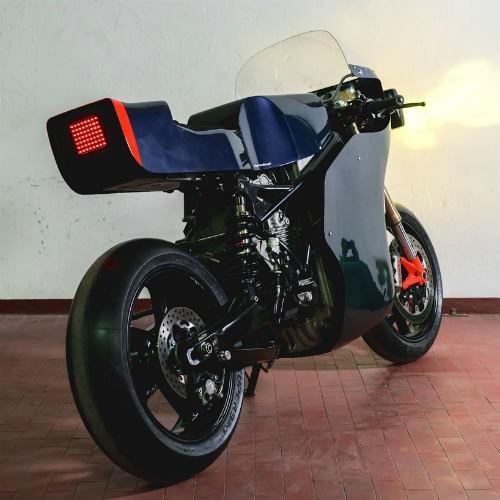 Soi 'cú đêm' cực ngầu Ducati 750 F1 - ảnh 3