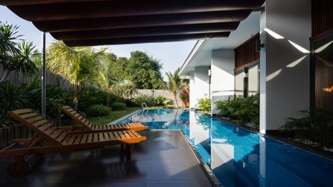 Căn nhà 200m2 tiện nghi như resort của nữ đại gia Bình Dương - ảnh 10