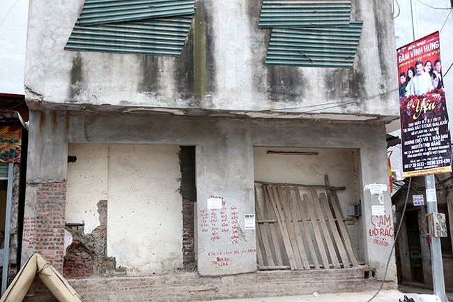 Nhà 'hình kỳ dị' lại mọc giữa Thủ đô sau cải tạo mương - ảnh 4