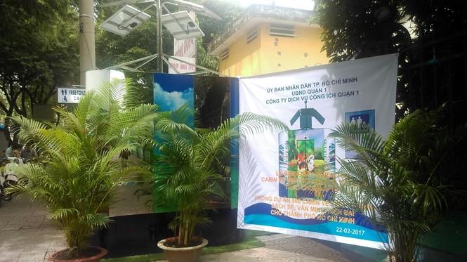 Nhà vệ sinh năng lượng mặt trời ở trung tâm Sài Gòn - ảnh 19