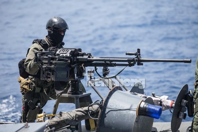 Cận cảnh đặc công Việt Nam đọ tài với đặc nhiệm các nước - ảnh 14