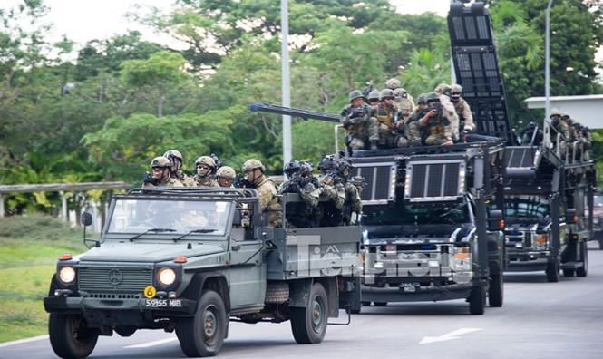 Cận cảnh đặc công Việt Nam đọ tài với đặc nhiệm các nước - ảnh 5