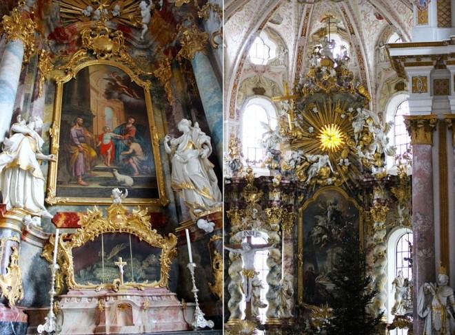 Bộ xương đính đầy vàng bạc châu báu trong nhà thờ Đức - ảnh 7