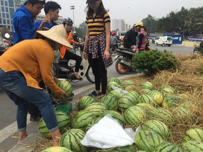 Bán hết 20 tấn dưa ủng hộ người dân Quảng Ngãi trong sáng 3/4 - ảnh 6