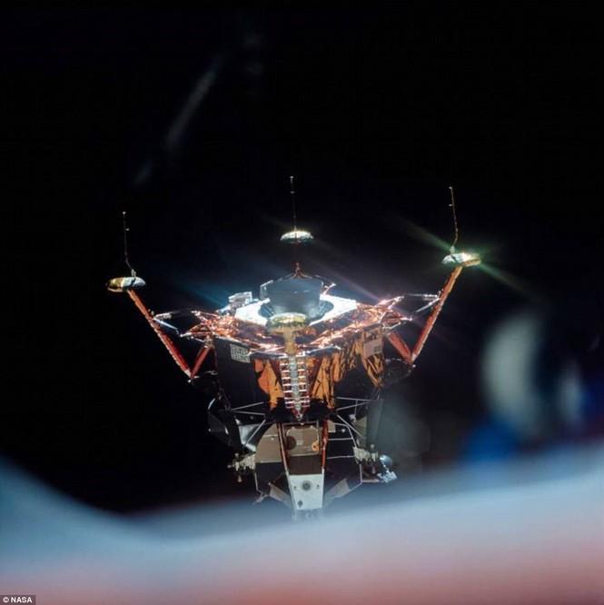 Ảnh hiếm về chuyến bay lên Mặt Trăng qua ống kính phi hành gia - ảnh 10