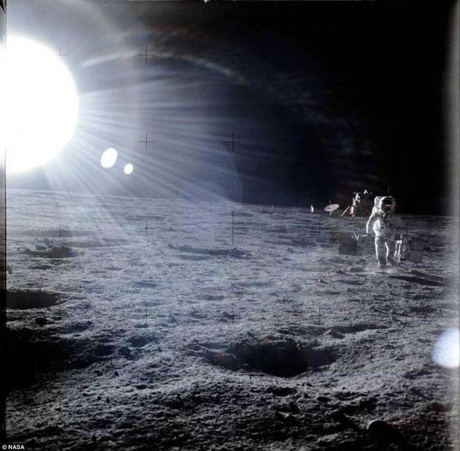 Ảnh hiếm về chuyến bay lên Mặt Trăng qua ống kính phi hành gia - ảnh 8