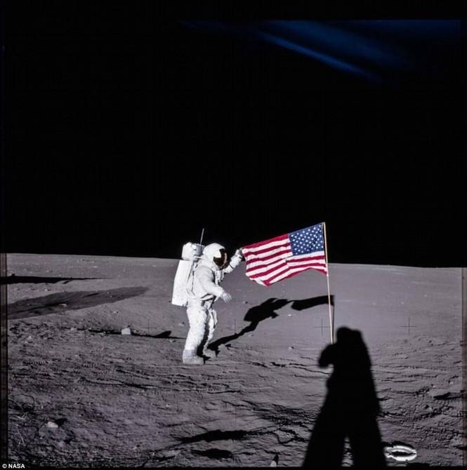 Ảnh hiếm về chuyến bay lên Mặt Trăng qua ống kính phi hành gia - ảnh 9