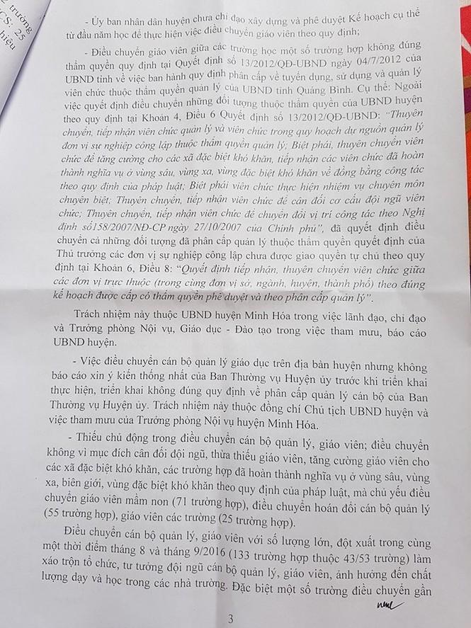 145 giáo viên bị điều chuyển sai nguyên tắc giờ ra sao - ảnh 3