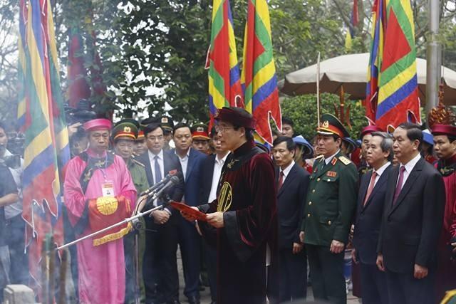 Chủ tịch nước dâng hương tưởng nhớ các Vua Hùng - ảnh 3