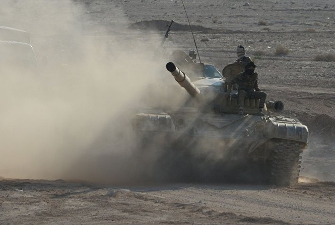 Hàng loạt xe tăng thời Liên Xô tham chiến ở Syria - ảnh 3