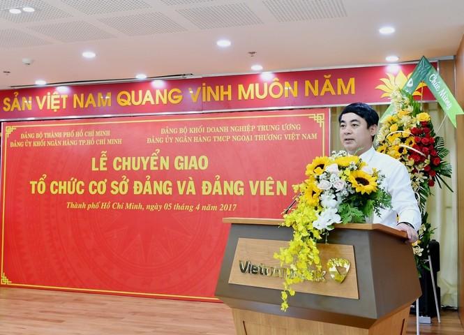 Đảng bộ Vietcombank tiếp nhận 17 tổ chức Đảng trên địa bàn TP.HCM - ảnh 3