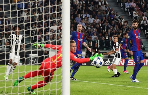 Juventus thắng đậm Barca ở tứ kết lượt đi - ảnh 1