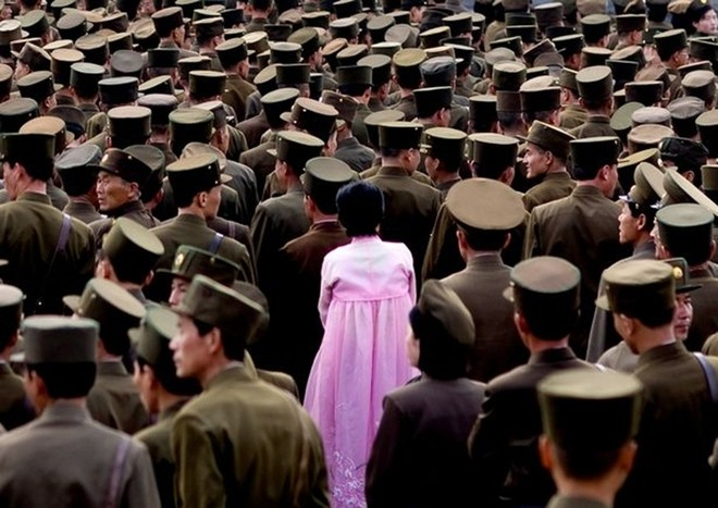 Binh sĩ Triều Tiên dưới góc nhìn của nhiếp ảnh gia Pháp - ảnh 9
