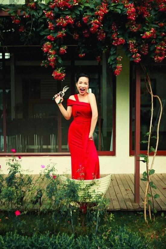 Đọ vườn nhà như trong cổ tích của Hồng Nhung - Mỹ Linh - ảnh 1