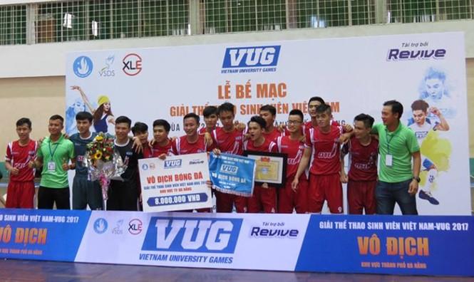 Đại học Duy Tân vô địch VUG 2017 khu vực TP Đà Nẵng - ảnh 4