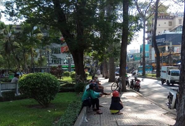 Người Sài Gòn khổ sở với nắng nóng đầu mùa - ảnh 3