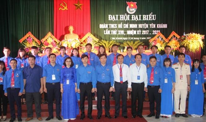 Anh Lê Việt Cường tái đắc cử Bí thư huyện đoàn Yên Khánh  - ảnh 1