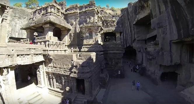 Bí ẩn ngôi đền cổ 1.200 tuổi được tạc từ một khối đá duy nhất - ảnh 2