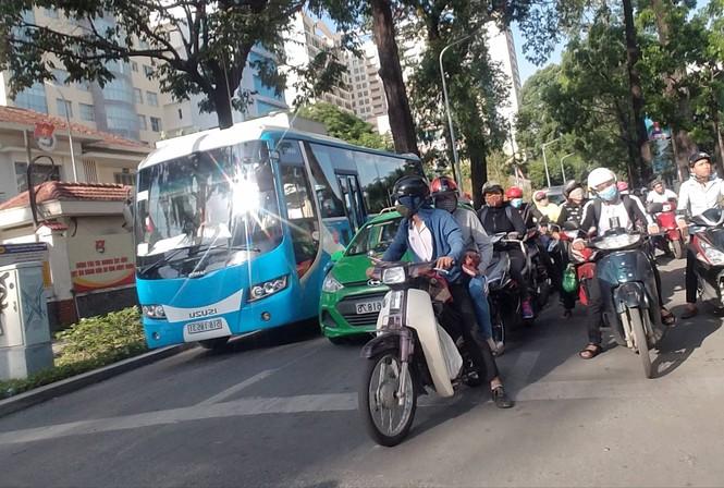 Lãnh đạo CSGT TPHCM nói gì về tình trạng kẹt xe? - ảnh 1