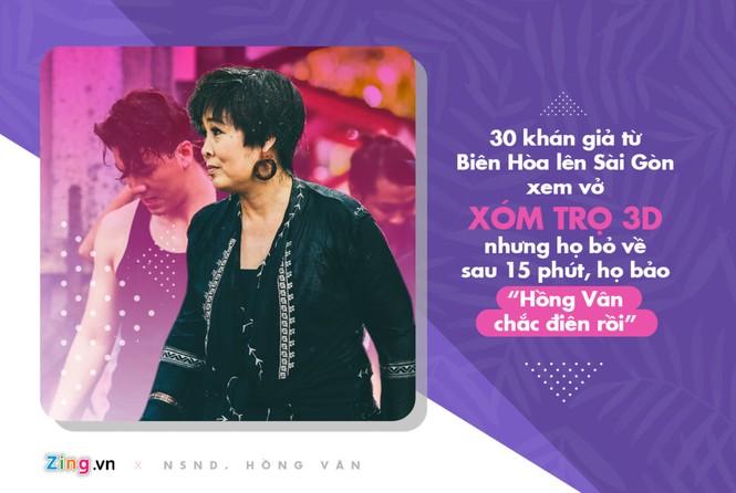 NSND Hồng Vân: 'Mỗi tháng tôi lỗ hơn 200 triệu đồng cho 2 sân khấu' - ảnh 1