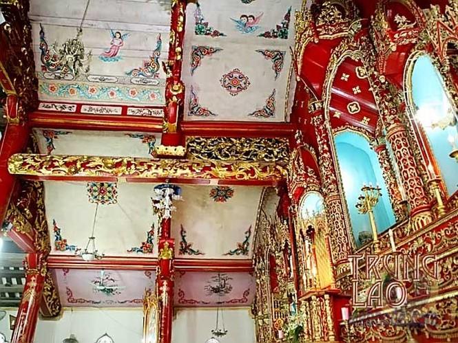 Vẻ đẹp nhà thờ 130 tuổi ở Nam Định trước khi bị cháy rụi - ảnh 4