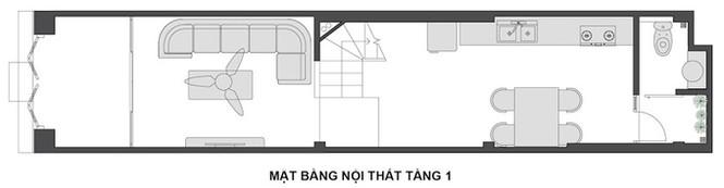 Ngôi nhà Hà Nội thoáng đãng dù bị bao vây bốn phía - ảnh 12