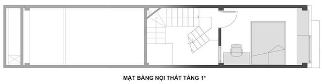 Ngôi nhà Hà Nội thoáng đãng dù bị bao vây bốn phía - ảnh 13