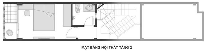 Ngôi nhà Hà Nội thoáng đãng dù bị bao vây bốn phía - ảnh 14