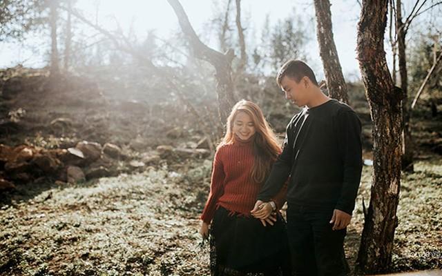 Bộ ảnh tự chụp của cặp đôi 10 năm bên nhau không dám ngỏ lời - ảnh 3