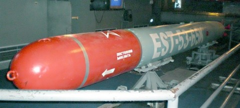 Cận cảnh ngư lôi chống ngầm, chống hạm AST 3-65KE
