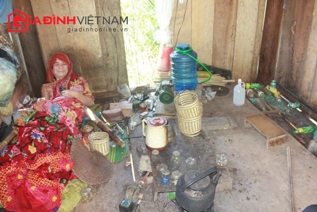 """""""Dị nhân"""" Lô Văn Yên thường không nói chuyện với người ngoài về sinh hoạt hàng ngày của mình."""
