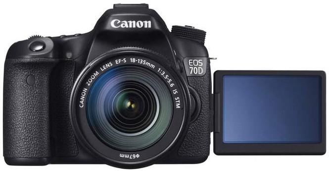Màn hình chạm LCD II đa góc của Canon 70D
