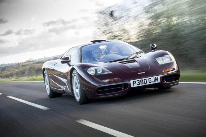 Mr.Bean rao bán McLaren F1 giá 12,5 triệu USD