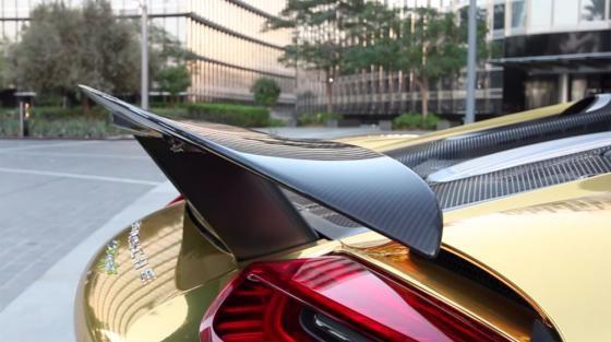 Siêu phẩm Porsche 918 Spyder Hybrid mạ chrome vàng cực độc - ảnh 4
