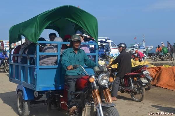 Việc đưa dịch vụ taxi ra đảo sẽ góp phần giảm tải đối với các nhà xe trong dịp Tết Nguyên đán.