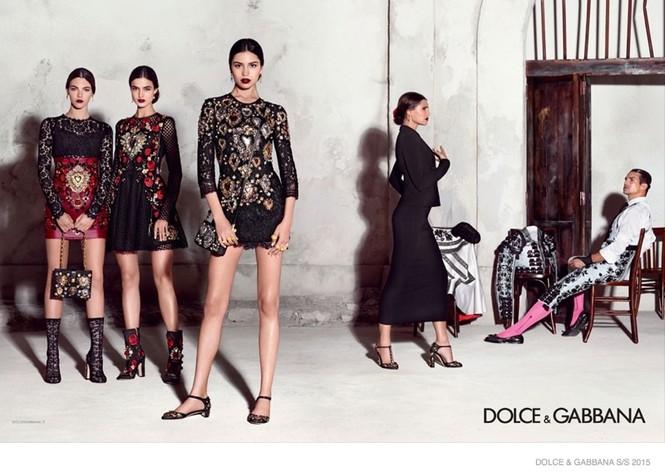 'Hơi thở' Tây Ban Nha tràn ngập BST Dolce & Gabbana xuân hè 2015 - ảnh 2