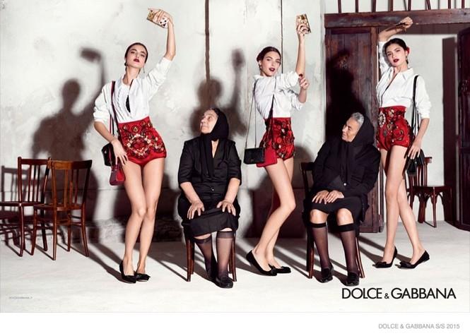 'Hơi thở' Tây Ban Nha tràn ngập BST Dolce & Gabbana xuân hè 2015 - ảnh 3