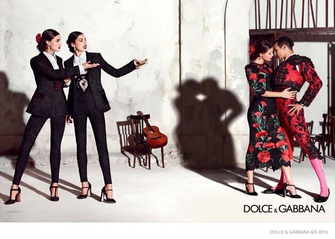 'Hơi thở' Tây Ban Nha tràn ngập BST Dolce & Gabbana xuân hè 2015 - ảnh 6
