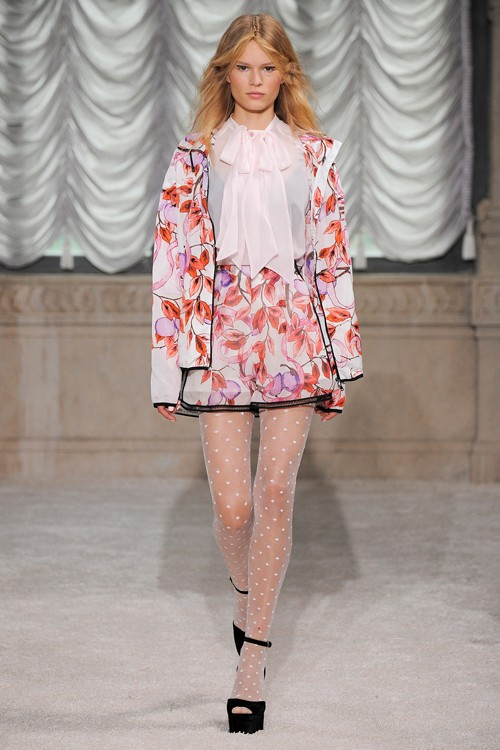 Họa tiết hoa rực rỡ trong xu hướng thời trang 2015 - ảnh 13