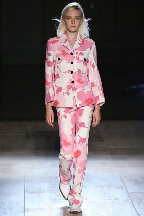Họa tiết hoa rực rỡ trong xu hướng thời trang 2015 - ảnh 6