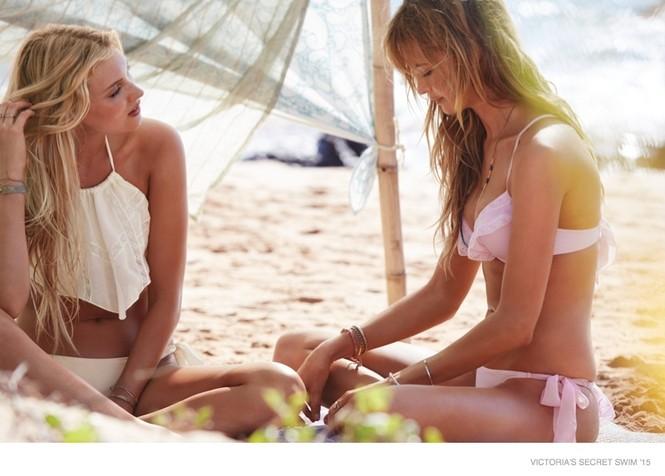 Victoria's Secret tung BST áo tắm 2015 với dàn 'chân dài' nóng bỏng - ảnh 4