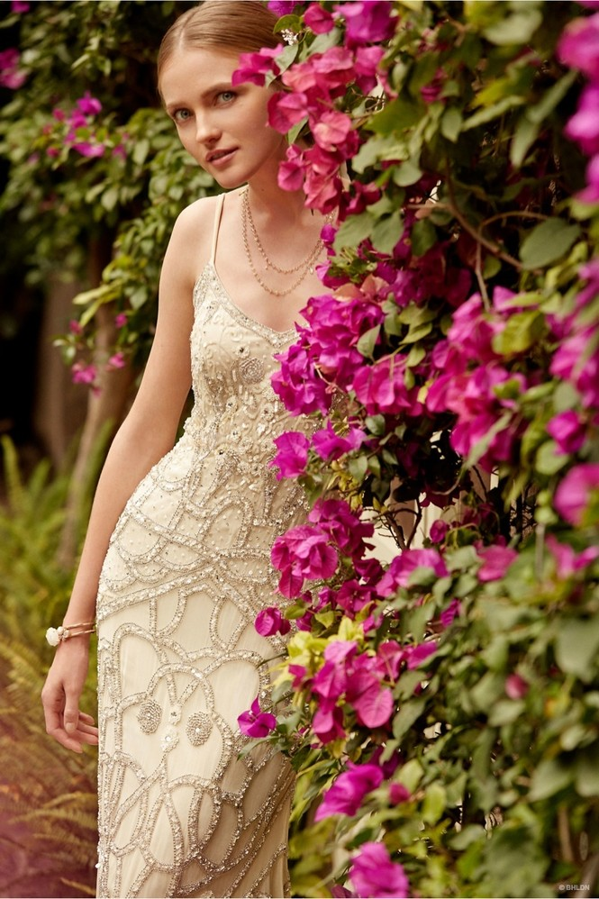 Váy cưới ren 'siêu' lãng mạn cho cô dâu  - ảnh 6