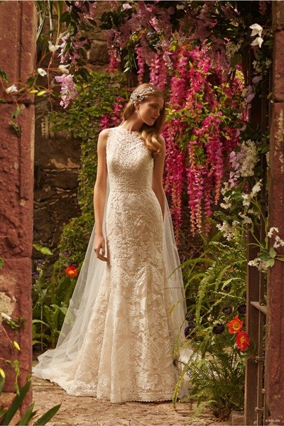 Váy cưới ren 'siêu' lãng mạn cho cô dâu  - ảnh 7
