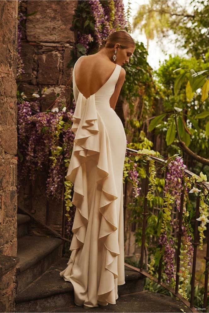 Váy cưới ren 'siêu' lãng mạn cho cô dâu  - ảnh 9
